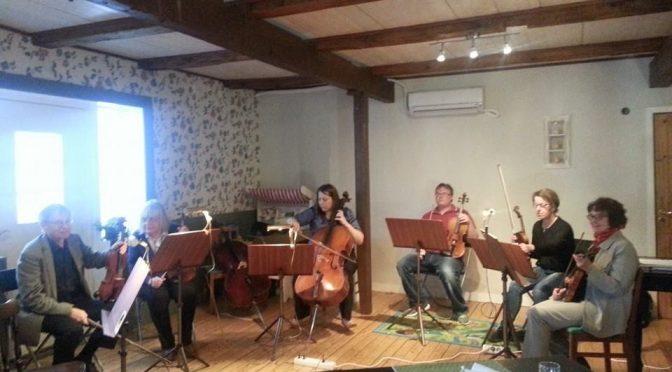 Musikcafé på Södrekvarn
